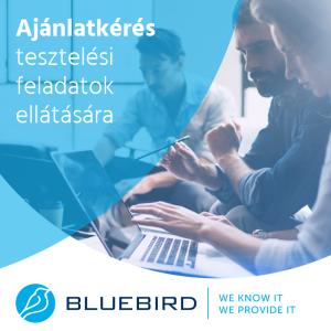 Szoftvertesztelés - Bluebird