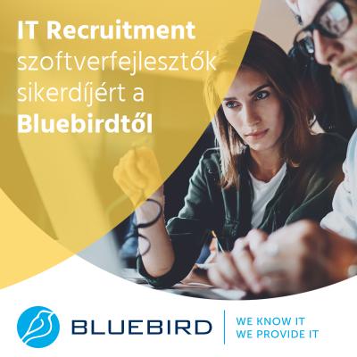 Szoftverfejlesztők sikerdíjon - Bluebird