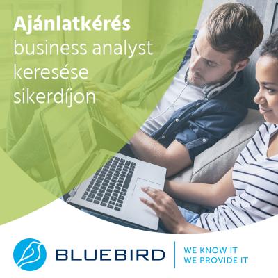 Business analyst - ajánlatkérés ITR - Bluebird