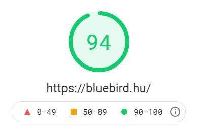 Weboldal készítés minősége - Bluebird