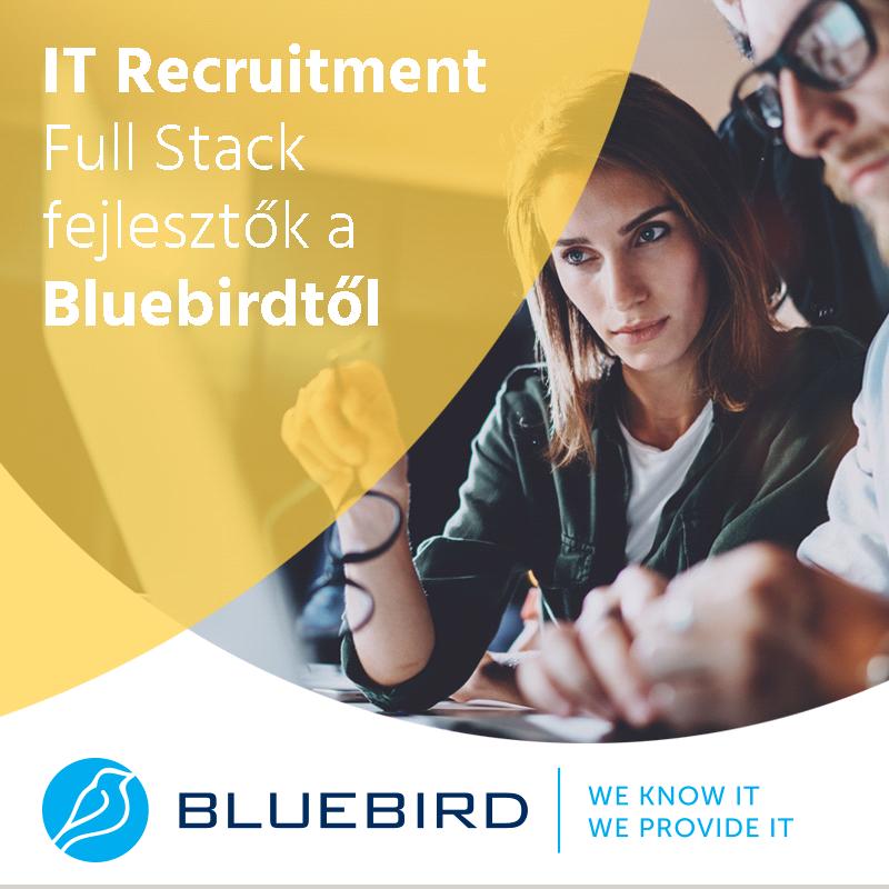 IT Recruitment - Full Stack fejlesztők a Bluebirdtől